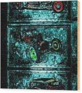 Vintage Hotrods Wood Print