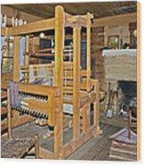 Vintage Interior Wood Print
