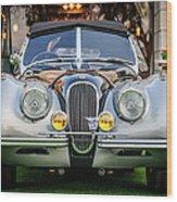 Vintage Jaguar -0924c Wood Print