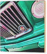 Vintage Jeep - J3000 Gladiator By Sharon Cummings Wood Print