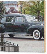 Vintage Lincoln Limo 1941 Wood Print