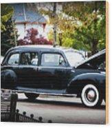 Vintage Lincoln Limo II Wood Print