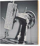 Vintage Machine Wood Print