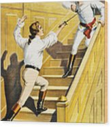 Vintage Nostalgic Poster - 8005 Wood Print