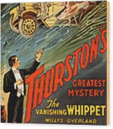 Vintage Nostalgic Poster - 8034 Wood Print