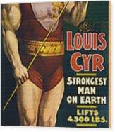 Vintage Nostalgic Poster 8061 Wood Print