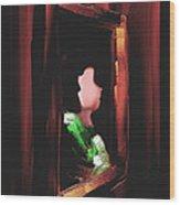 Vintage - Off The Wall Series - #1 Wood Print