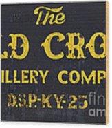 Vintage Old Crow - D008693 Wood Print