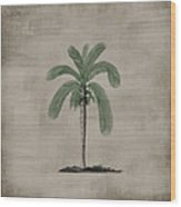 Vintage Palm Tree Wood Print