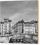 Vintage Paris 5b Wood Print