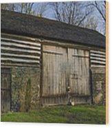 Vintage Pennsylvania Barn Wood Print