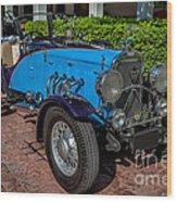 Vintage Peugeot 201 Wood Print