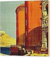 Vintage Poster - Napoli Wood Print