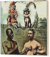 Vintage Poster - Plug Tobacco Wood Print