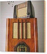 Vintage Radios Wood Print