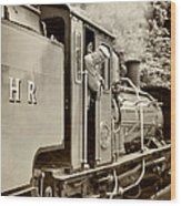 Vintage Railway Wood Print