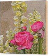 Vintage Romance Wood Print
