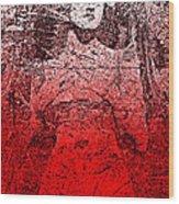 Vintage Ruby Portrait Wood Print
