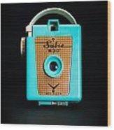 Vintage Sabre 620 Camera Wood Print