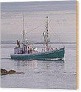 Vintage Sardine Carrier Michael Eileen Wood Print