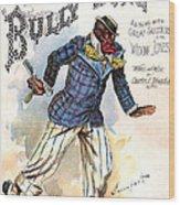 Vintage Sheet Music Cover 1896 Wood Print