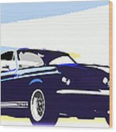 Vintage Shelby Gt500 Wood Print