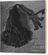 Vintage Skeleton Keys_tassled Bw Wood Print