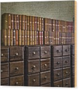 Vintage Storage Wood Print