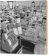 Vintage Supermarket Vintage #04 Fine Art Print Wood Print by Retro Images Archive