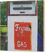 Maria's Taco Express2 - Luther Fine Art Wood Print