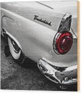 Vintage Ford Thunderbird Wood Print