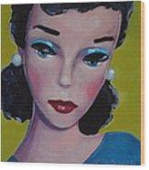 Vintage Toy Series Wood Print by Kelley Smith