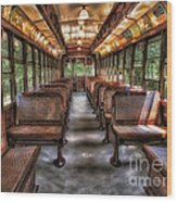 Vintage Trolley No. 948 Wood Print