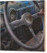 Vintage Truck 2 Wood Print