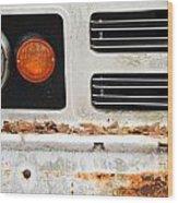 Vintage Van. Wood Print