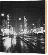 Vintage Vancouver 1951 Wood Print