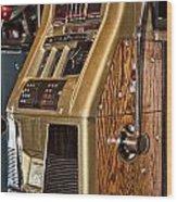 Vintage Vegas Wood Print
