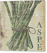 Vintage Vegetables 1 Wood Print