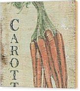 Vintage Vegetables 4 Wood Print