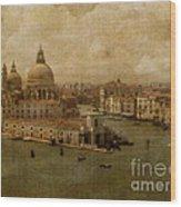Vintage Venice Wood Print