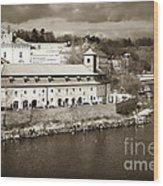 Vintage Vltava Wood Print