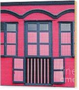 Vintage Windows Wood Print by William Voon