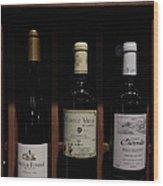 Vintage Wine - 5d20804 Wood Print