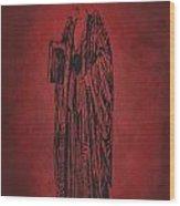 Vintage Women Color Art 27 Wood Print