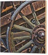 Vintage.8548 Wood Print