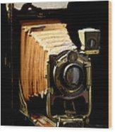 Vintaged Canadian Kodak Camera Wood Print