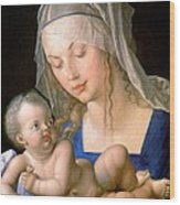 Virgin And Child Holding A Half-eaten Pear, 1512 Wood Print
