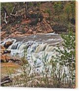 Virgin Falls Wood Print