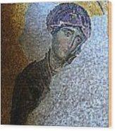 Virgin Mary Wood Print