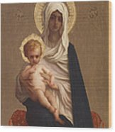 Virgin Of The Deliverance Wood Print